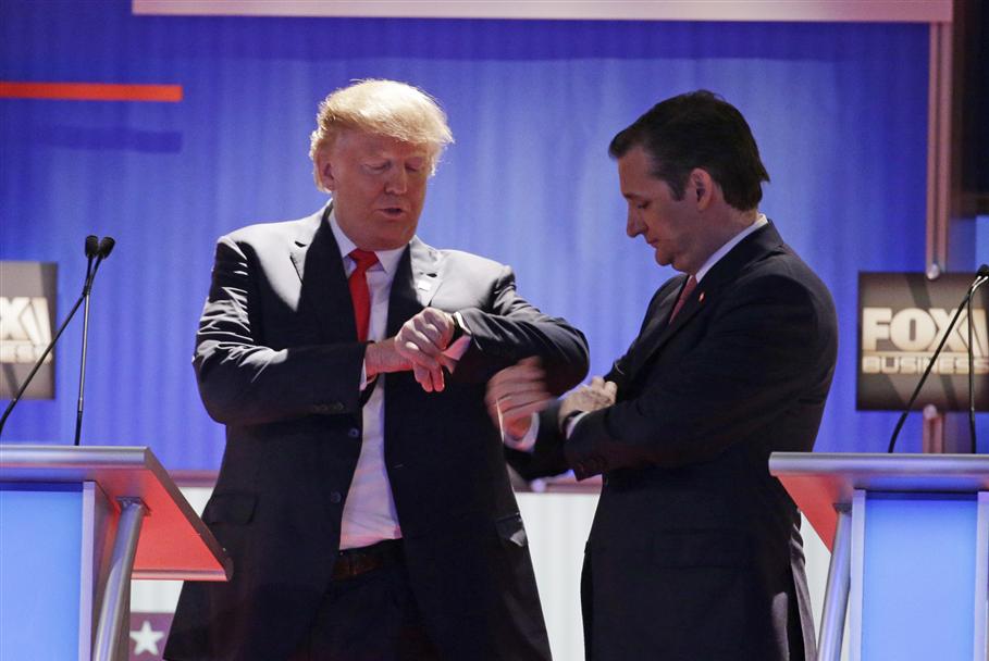Trump Cruz Fox
