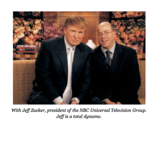 Trump Zucker Partnership