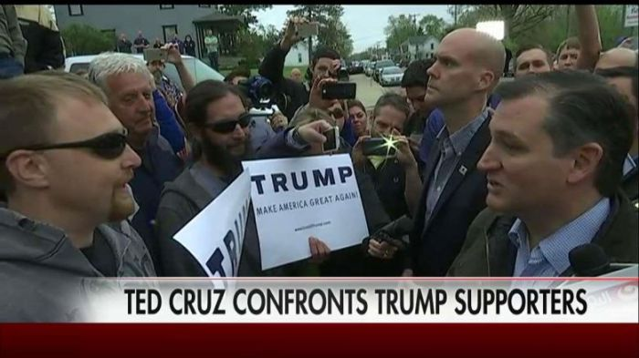 Trump Supporter Cruz